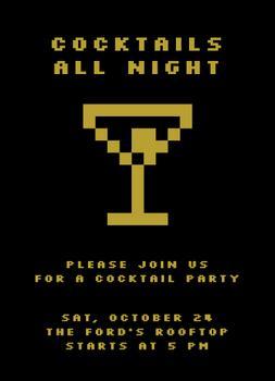 Pixelized Cocktail Party