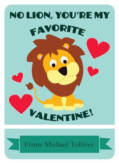 valentine's day - No Lion by Katelyn
