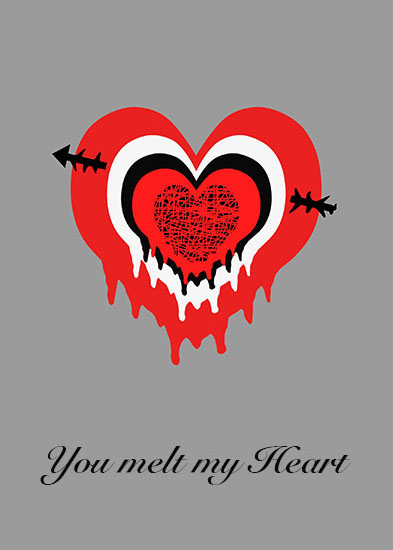 valentine's day - Love Target by Stuart Heir