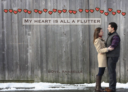 valentine's day - all a flutter by Studio 1.8 Art and Design