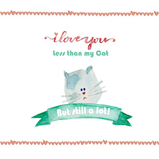valentine's day - My Cat & You by Marcela Tonello
