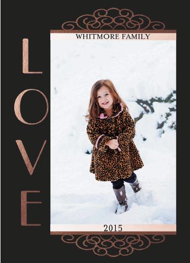 valentine's day - Vertical Love by Cindy Jost