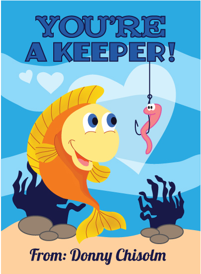 valentine's day - You're A Keeper by Katelyn