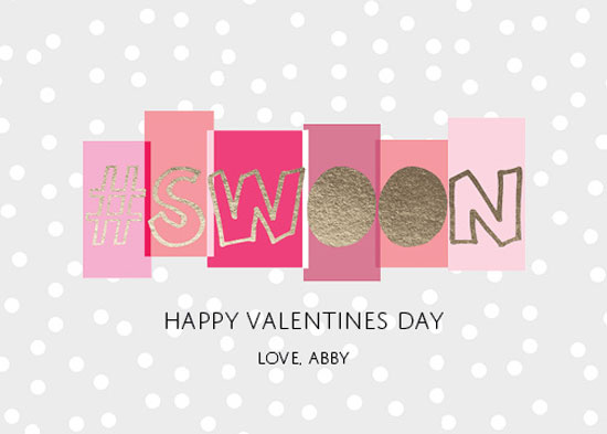 valentine's day - I #swoon for you by Kristine Sarley