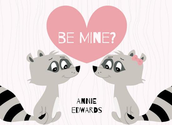 valentine's day - Raccoon Love by Brittany Luiz