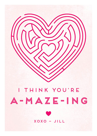valentine's day - You're A-MAZE-ING by Adori Designs