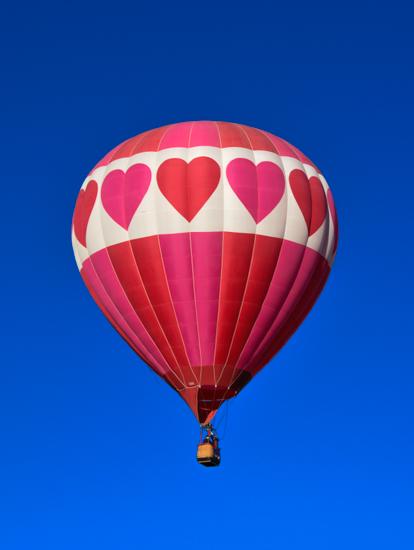 valentine's day - Love Balloon by Lonna Coleman