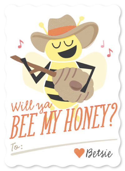 valentine's day - Cowboy Bumble by Jessie Steury