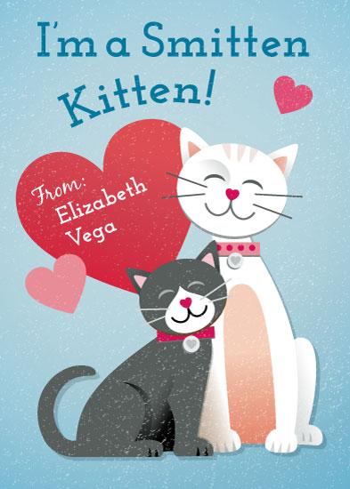 valentine's day - Purrrfect by Jessica Ogden