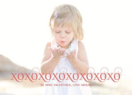 valentine's day - blowing kisses your way by Karen Delaney