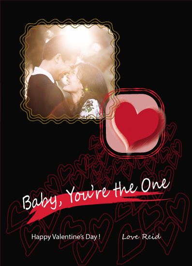 valentine's day - Baby You're the One by Atizay