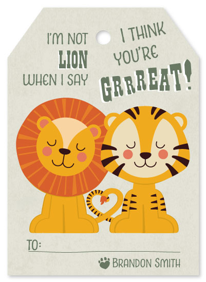 valentine's day - I think you're Grrreat! by Jennifer Morehead