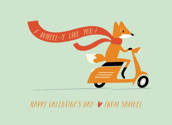 valentine's day - Cheeky Fox by Angela Thompson