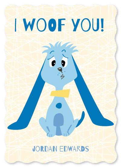 valentine's day - I Woof You by Brittany Luiz
