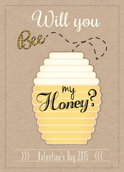valentine's day - Bee My Honey by Keri Omphroy
