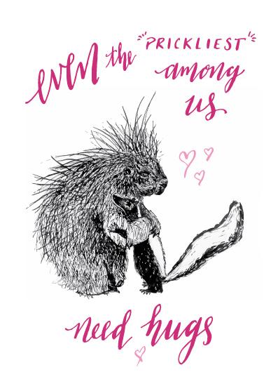valentine's day - Everyone Needs A Hug by Wild Inkdom