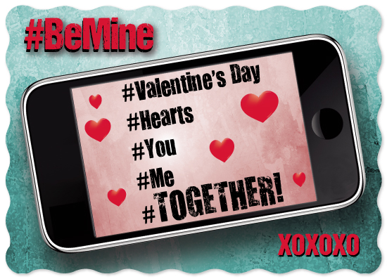 valentine's day - Hashtag Love by Cecilia Torres