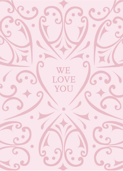 valentine's day - Pink on Pink by Rose Design