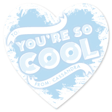 valentine's day - You're so cool by French Braid Paper