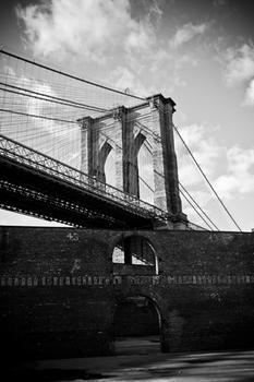 The Brooklyn Bridge Looming