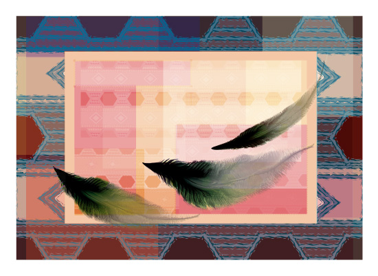 art prints - Falling Feathers by Atizay