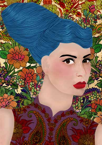 art prints - Lulu by Kasmira Mohanty