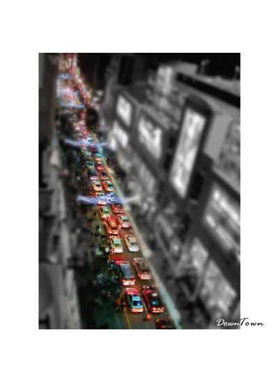 art prints - DownTown by Chi