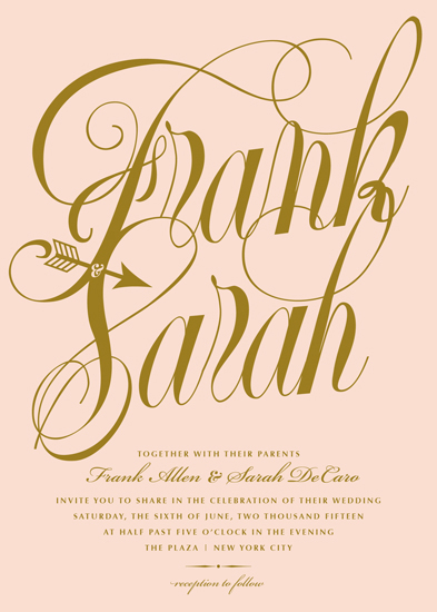 wedding invitations - Lovestruck by Sarah Dickson
