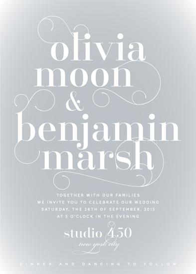 wedding invitations - Daydream by Sarah Dickson