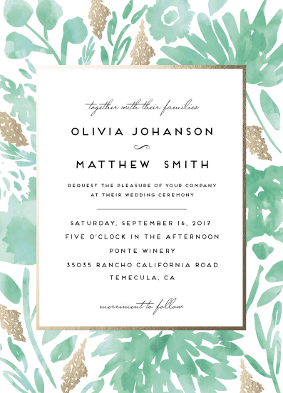 wedding invitations - Watercolor Delight by Petra Kern