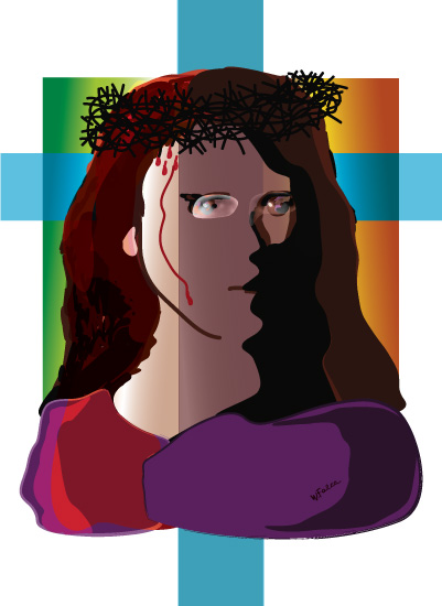 art prints - Inclusive Jesus by Atizay