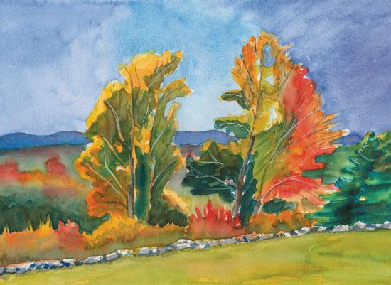 art prints - Festive Foliage by Joyously Yours