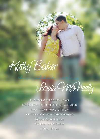 wedding invitations - just us by Chi