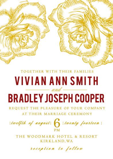 wedding invitations - Amor by WildHeart Paper