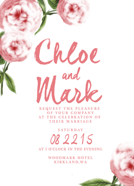 wedding invitations - Penelope by WildHeart Paper