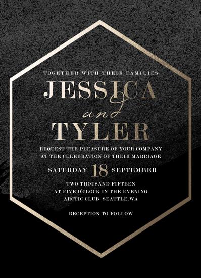 wedding invitations - Trinity by WildHeart Paper