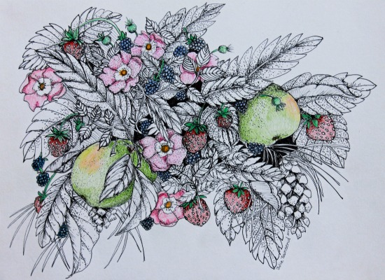 art prints - Nature's Bounty by Julie Townsend
