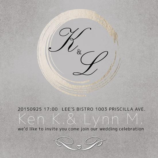 wedding invitations - Urban wedding by Chi