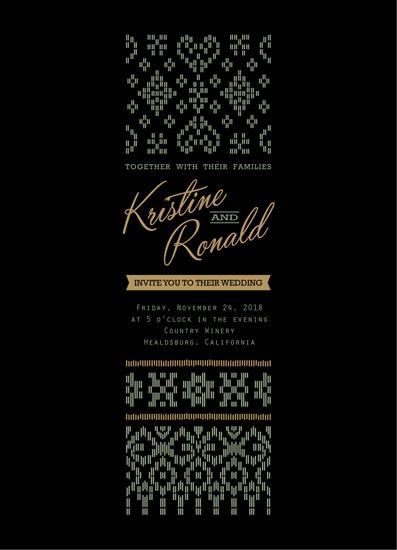wedding invitations - Songket by idu fitrano