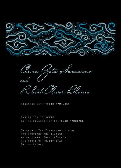 wedding invitations - Megamendung by idu fitrano