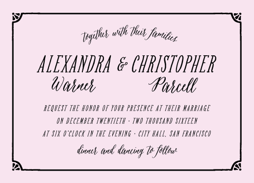 wedding invitations - sweet shoppe by curbsidetreasure
