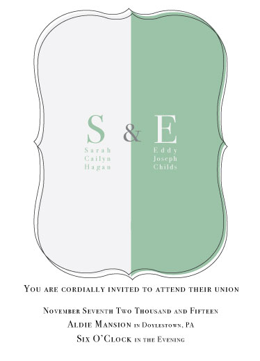 wedding invitations - Classic Look by HaSeo.Design