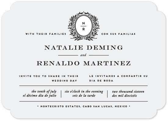 wedding invitations - Endure by Jennifer Postorino