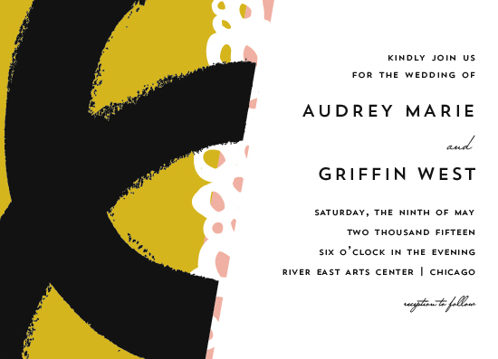 wedding invitations - the modernists by Angela Marzuki