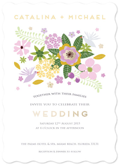 wedding invitations - Tropical Senses by Jan Shepherd