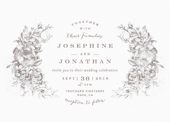 wedding invitations - amazing watercolor by Phrosne Ras
