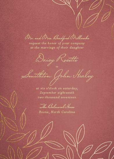 Wedding invitations magnolia tree at mintedcom for Magnolia tree wedding invitations