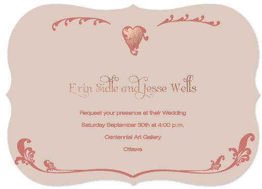 wedding invitations - Epoque Wedding by C Weller