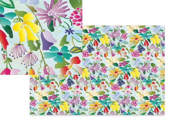 fabric - Candy garden by Kashmira Baheti