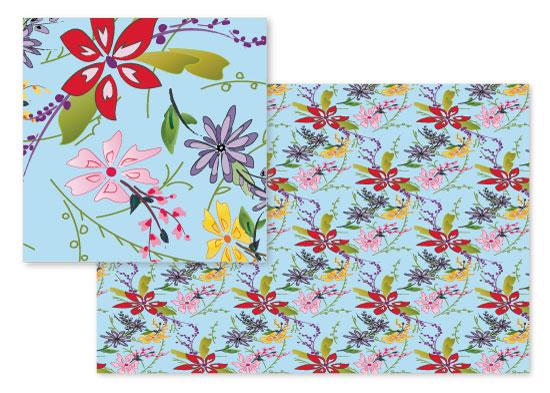 fabric - Nina by Kashmira Baheti